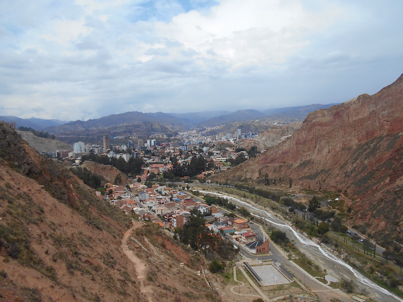 Rock Climbing at La Paz Bolivia