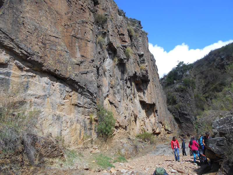 Rock Climbing at Sucre Bolivia