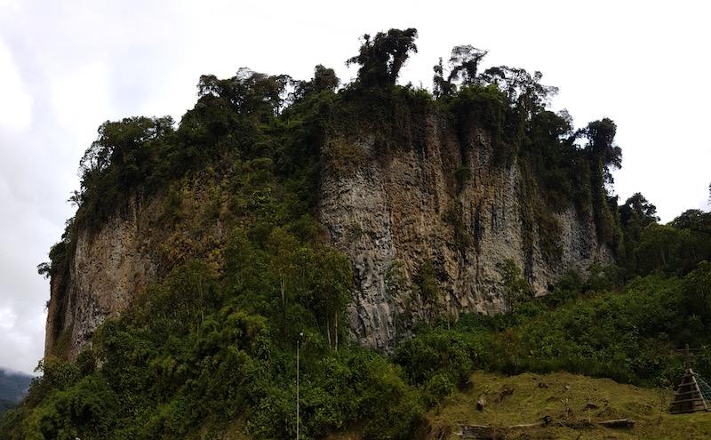 Rock Climbing at Cuyuja Ecuador