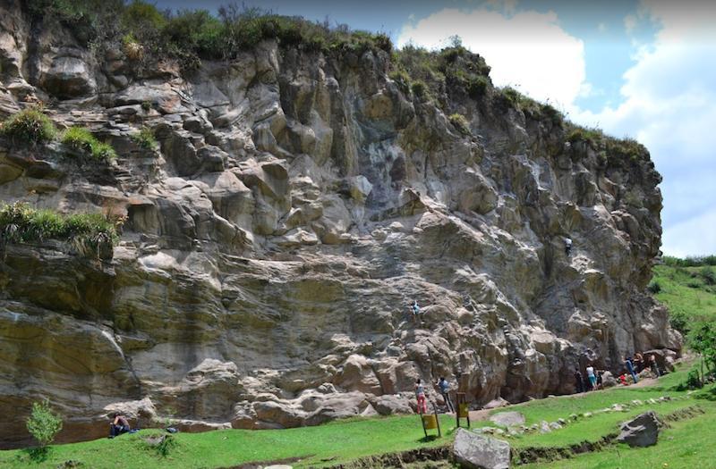 Rock Climbing Sigsipamba Ecuador