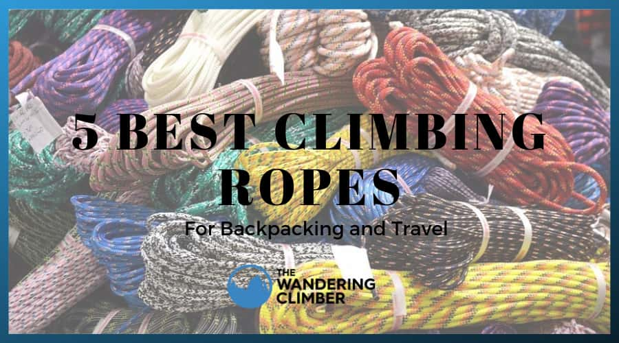 five best rock climbing ropes travel