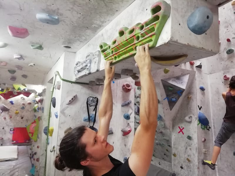 Hand care for climbers