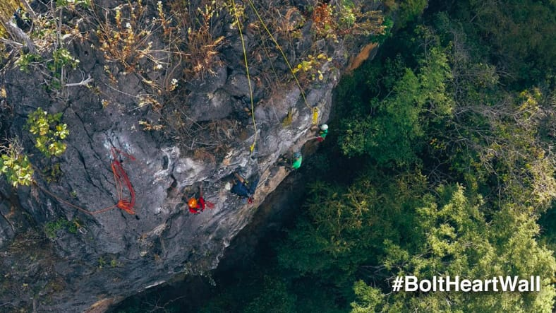 bolting new routes at chiang mai