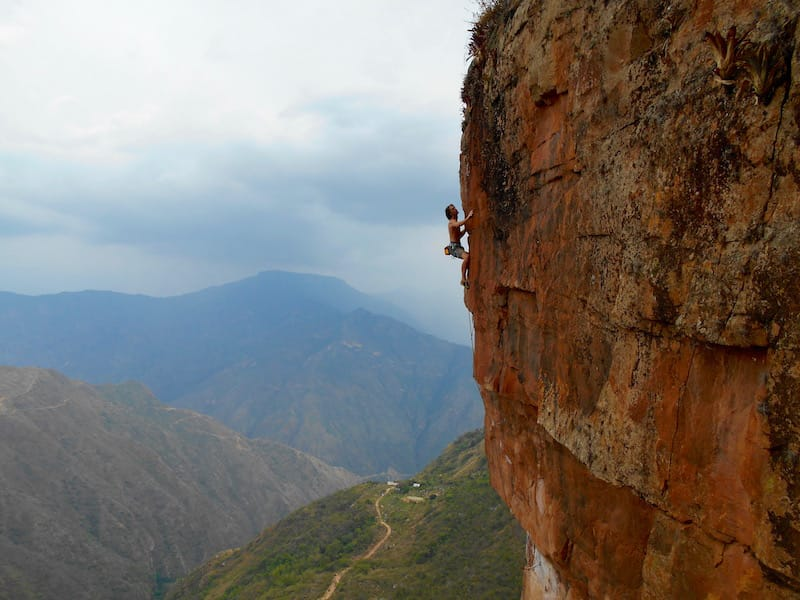 rock climbing colombia